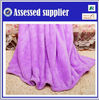 polyester purple coral fleece fabric