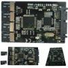 4 Micro SD to Micro SATA Adapter RAID quad micro sd card HDD enclosure