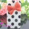 for iphone 5 flip case with bow design