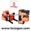 Loongon transformer toys letter robot F swiching between Letter F and forklift with sound and light education toy