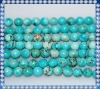 4mm natural turquoise gemstone bead