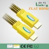 FLAT HDMI CABLE with nylon braid