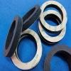 flat silicone foam rubber gasket