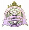 Painted logo badge/emblem