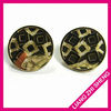 Wholesale fashion gold earring finding