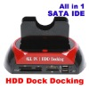 SATA HDD Dock Station USB HUB Cardreader