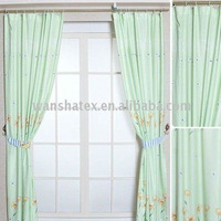 Plain Dyed Printed Curtain Fabric