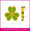 Diamond cz brass jewelry, micro pave cz pendant