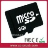 Full capacity high performance 8GB micro sd card