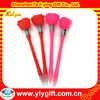 2012 new and cheap novelty rose flash led light pen