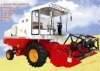 Self-contained grain combined harvesters