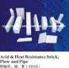 Chemical resistant brick/plate