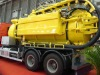8CBM vacuum/jetter truck for cleaning the sewer