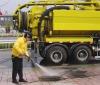 vacuum suction sewage truck