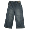 [LEAP]Baby girl's jeans with button special pleat closing  (children garment,children wear)