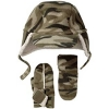 [LEAP]Baby  Camo Pro fleece hat & mitten set(child garment,kid wear)