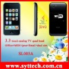 SL003A+3.3 touch screen quad band mobile phones