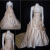 Nice Beaded Halter Bridal Wedding Gown HS021