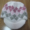 100% acrylic  Jacquard knitted cap