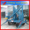 Battery Power Telescopic Work Platform 0086 371 65866393