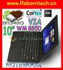 10 inch WM8850 Mini android laptop 3G WIFI