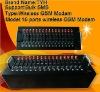 16 ports RJ45 GSM modem for sending bulk sms,wavecom gsm module