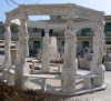white marble garden gazebo craft