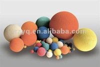 rubber sponge cleaning ball for pipeline cleaning