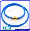 New design Silicone titanium energy necklace