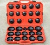 30pcs Oil Filter End Cap Wrench Cup Socket Tool Set Toyota/Lexus/Honda/Acura/Nissan