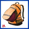 hi-vis rucksack/canvas fashion bag