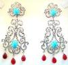 silver earrings designs for girls
