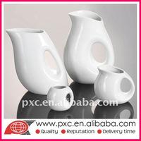 White Porcelain Creamer Pots