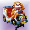 monkey shape with LED light coin operated games giant operation game kid rock machine kiddy riders car ride on toy ground-grid