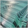 Protective wire mesh fence