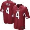 Men NO.4 Kevin Kolb Game Team Color Jersey