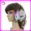 Fashion fur earmuff RQ-E08