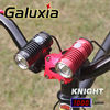 Galuxia KNIGHT Cree XML U2 Black Or Red Color LED Bicycle Light