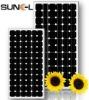 190W mono cystalline solar panel, solar module, TUV,CE,IEC,CEC certification