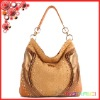 Royal custom made imported calf leather hobo bag luxury ladies shoulder bag