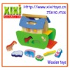 Promotional Kids Funny Educational Toys Wooden Boats
