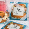 Noah and Friends Collection Baby Themed Photo Coaster Favors
