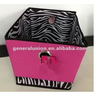 New&hot!! Nonwoven pretty storage boxes with handles