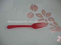 heavy weight disposable colored plastic knife/fork/spoon