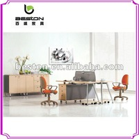 table top office partitions parts with steel leg SP-002
