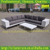2012 Wonderful aluminium rattan wicker outdoor furniture