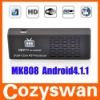 MK808 Android 4.1 MINI PC Dual core Cortex A9 RK3066 1.6GHz 1G RAM 8G ROM HDMI WIFI Google TV