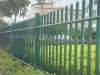 Powder Coated Galvanized Steel Fence