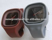 grey, brown color available, fashion silicon watch NGW002
