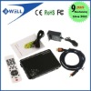 Android 4.0 ARM Cortex A9 WiFi HD 1080P HDMI Internet TV Box with Remote DDR III 512M 4GB+Flash+3D Google TV Box